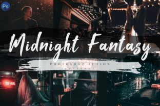 Download Free 7 Midnight Fantasy Photoshop Actions Acr Graphic By 3motional for Cricut Explore, Silhouette and other cutting machines.