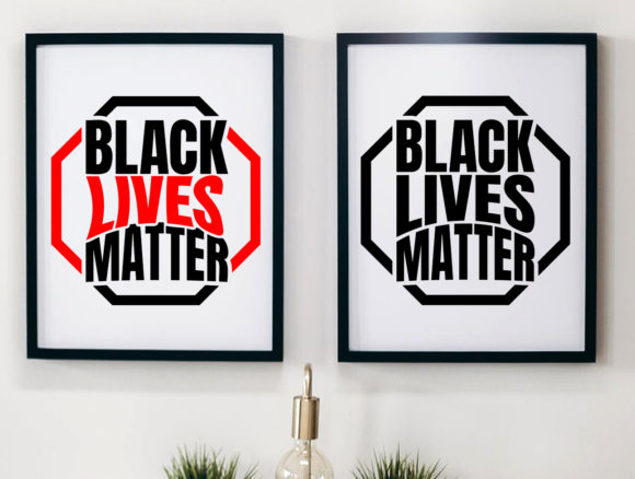 Download Free Black Lives Matter Graphic By Laks Mi Creative Fabrica for Cricut Explore, Silhouette and other cutting machines.