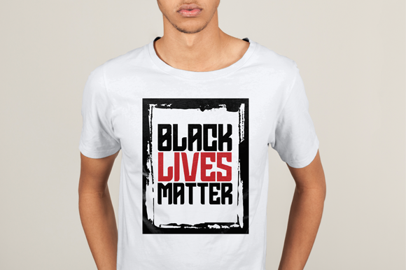 Download Free Black Lives Matter T Shirt 1 Graphic By Studioisamu Creative for Cricut Explore, Silhouette and other cutting machines.