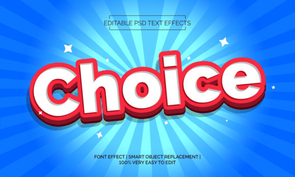 CHOICE TEXT EFFECTS STYLE Graphic Layer Styles By Neyansterdam17