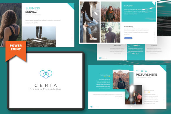 Download Free Ceria Creative Powerpoint Graphic By Temp Here Creative Fabrica SVG Cut Files