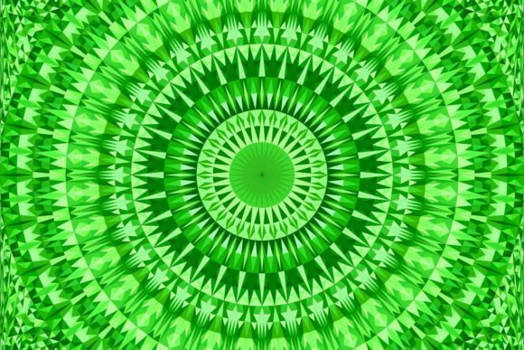 Download Free Green Seamless Mosaic Mandala Pattern Graphic By Davidzydd for Cricut Explore, Silhouette and other cutting machines.