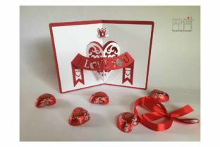Heart Crown Graphic 3D SVG By patrizia.moscone