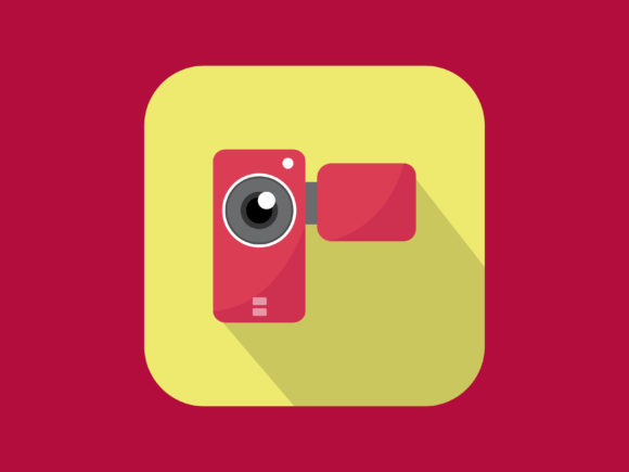 Download Free Icon Handycam Modern Style Graphic By Meandmydate Creative Fabrica for Cricut Explore, Silhouette and other cutting machines.