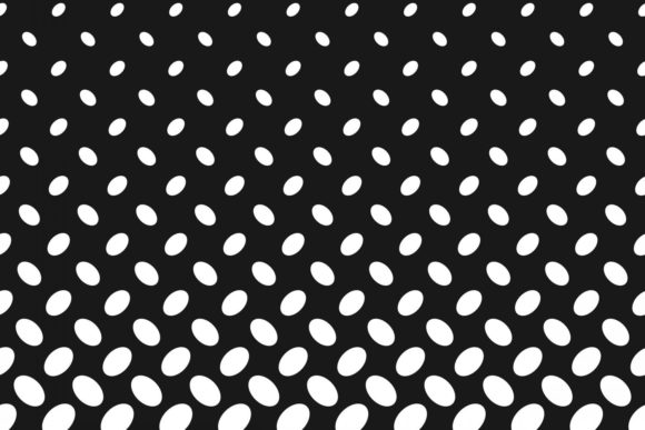 Download Free Monochrome Halftone Ellipse Pattern Graphic By Davidzydd for Cricut Explore, Silhouette and other cutting machines.
