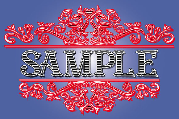 Download Free Rosery Vintage Ornament Frame Vector Graphic By Graphicsfarm for Cricut Explore, Silhouette and other cutting machines.