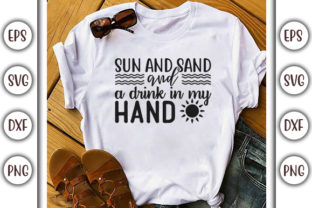 Print on Demand: Summer Beach Design, Sun and Sand and Graphic Print Templates By GraphicsBooth