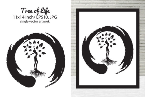 Download Free Tree Of Life Graphic By Biljanacvetanovic Creative Fabrica for Cricut Explore, Silhouette and other cutting machines.