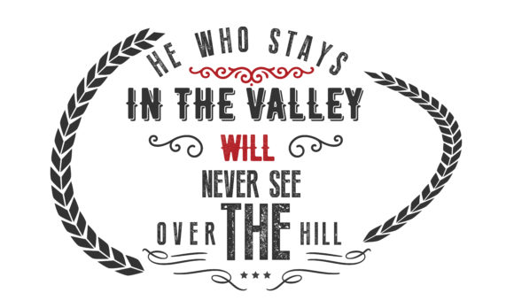 He Who Stays In The Valley Graphic By Baraeiji Creative Fabrica