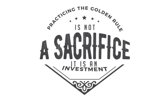 Download Free Practicing The Golden Rule Graphic By Baraeiji Creative Fabrica for Cricut Explore, Silhouette and other cutting machines.