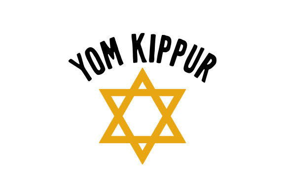 Yom Kippur Jewish Craft Cut File By Creative Fabrica Crafts