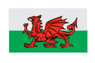Welsh Flag Travel Craft Cut File By Creative Fabrica Crafts