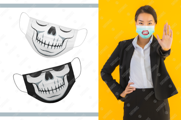 20 Funny Designs for Face Mask Graphic Crafts By Natariis Studio - Image 3