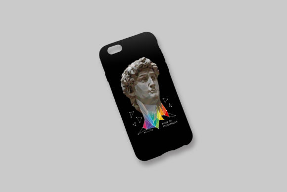 Download Free Abstract Art David By Michelangelo Graphic By Natariis Studio for Cricut Explore, Silhouette and other cutting machines.