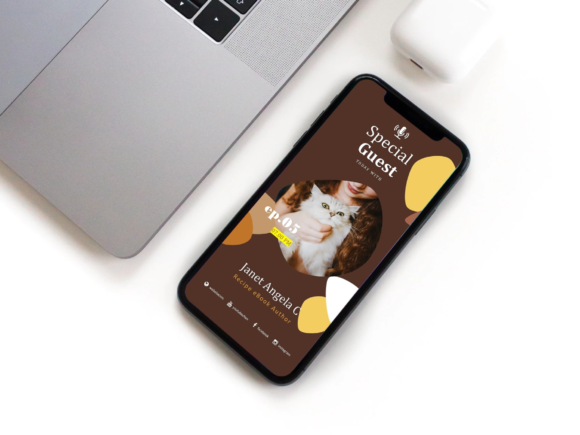 Download Free Bakery Podcast Ig Stories Post Keynote Graphic By Rivatxfz for Cricut Explore, Silhouette and other cutting machines.