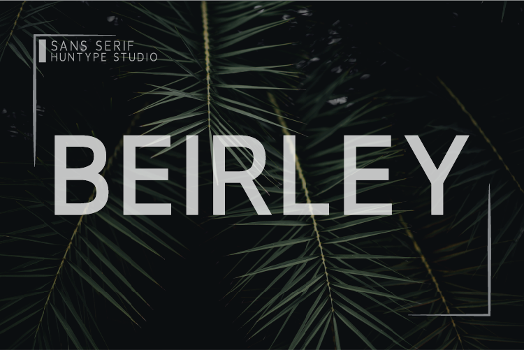 Download Free Beirley Font By Huntype Creative Fabrica for Cricut Explore, Silhouette and other cutting machines.