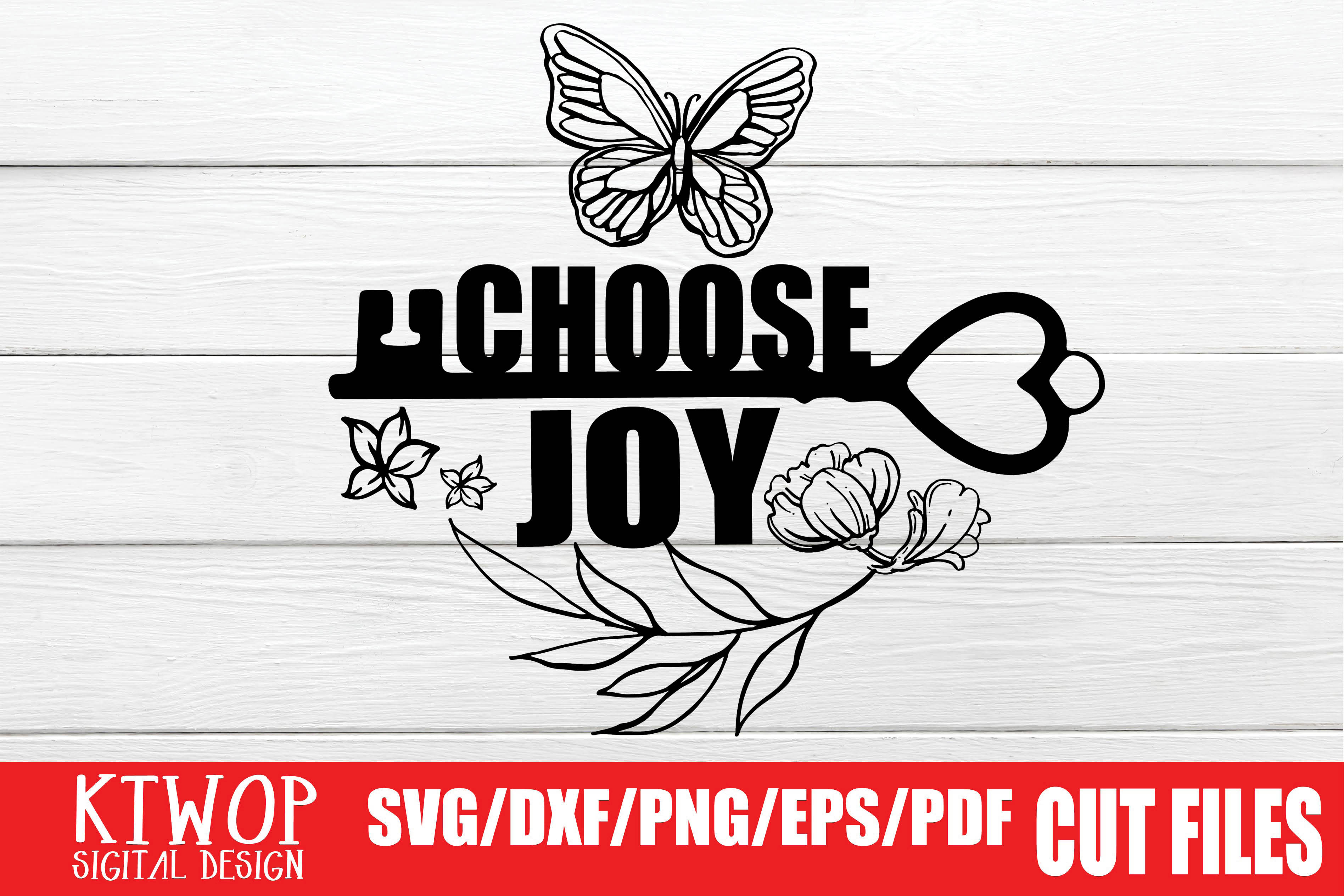 Download Free Choose Joy Grafico Por Ktwop Creative Fabrica for Cricut Explore, Silhouette and other cutting machines.