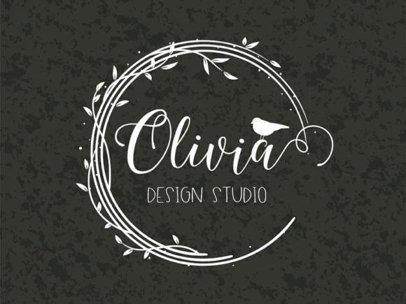 Bird & Branches Personal Logo 'Olivia' Graphic Logos By MaddyZ - Image 1