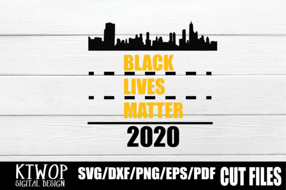 Download Free Black Lives Matter 2020 Graphic By Ktwop Creative Fabrica for Cricut Explore, Silhouette and other cutting machines.