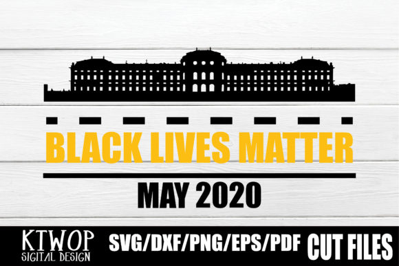 Download Free Black Lives Matter May 2020 Graphic By Ktwop Creative Fabrica for Cricut Explore, Silhouette and other cutting machines.