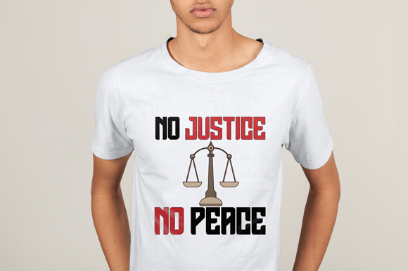 Download Free Black Lives Matter T Shirt Justice Graphic By Studioisamu for Cricut Explore, Silhouette and other cutting machines.