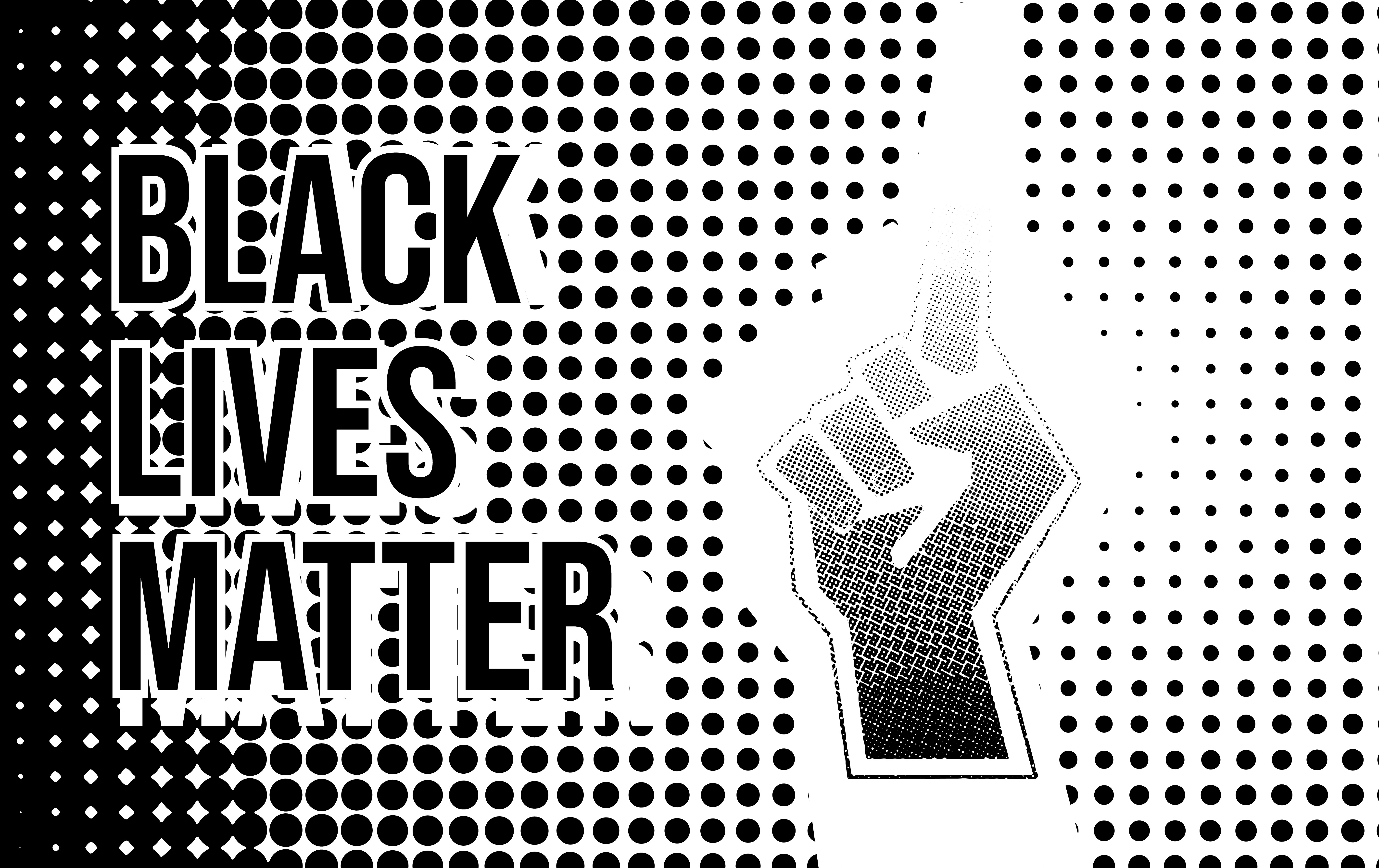 Download Free Black Lives Matter Vector Illustration Graphic By Ngabeivector for Cricut Explore, Silhouette and other cutting machines.