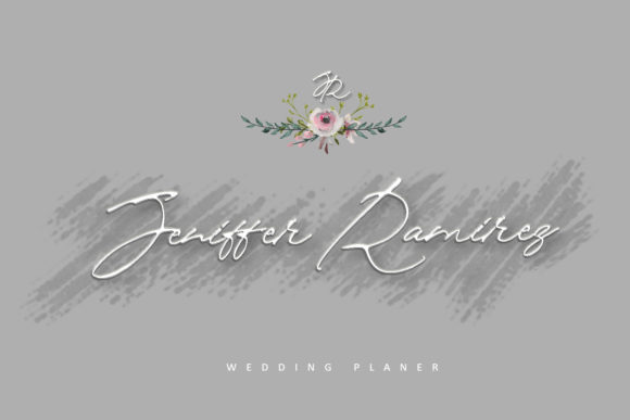 Download Free Brigitte Eigner Font By Creativework69 Creative Fabrica for Cricut Explore, Silhouette and other cutting machines.