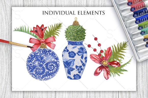 Download Free China Blue Christmas Graphic By Starstudiooriginals Creative for Cricut Explore, Silhouette and other cutting machines.