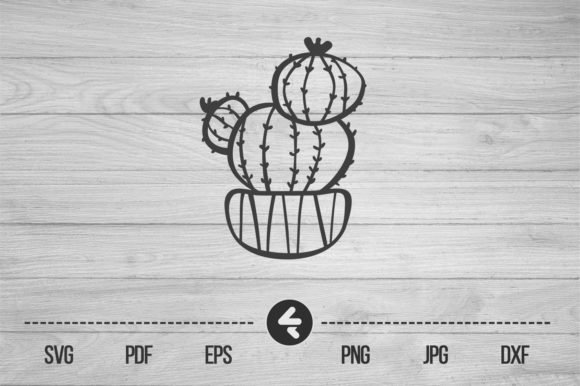 Download Free 6 Cactus Cricut Designs Graphics for Cricut Explore, Silhouette and other cutting machines.