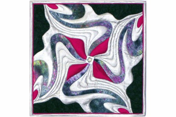 Calligraph Pinwheel Quilt Pattern Graphic Quilt Patterns By dena.dale.crain - Image 1