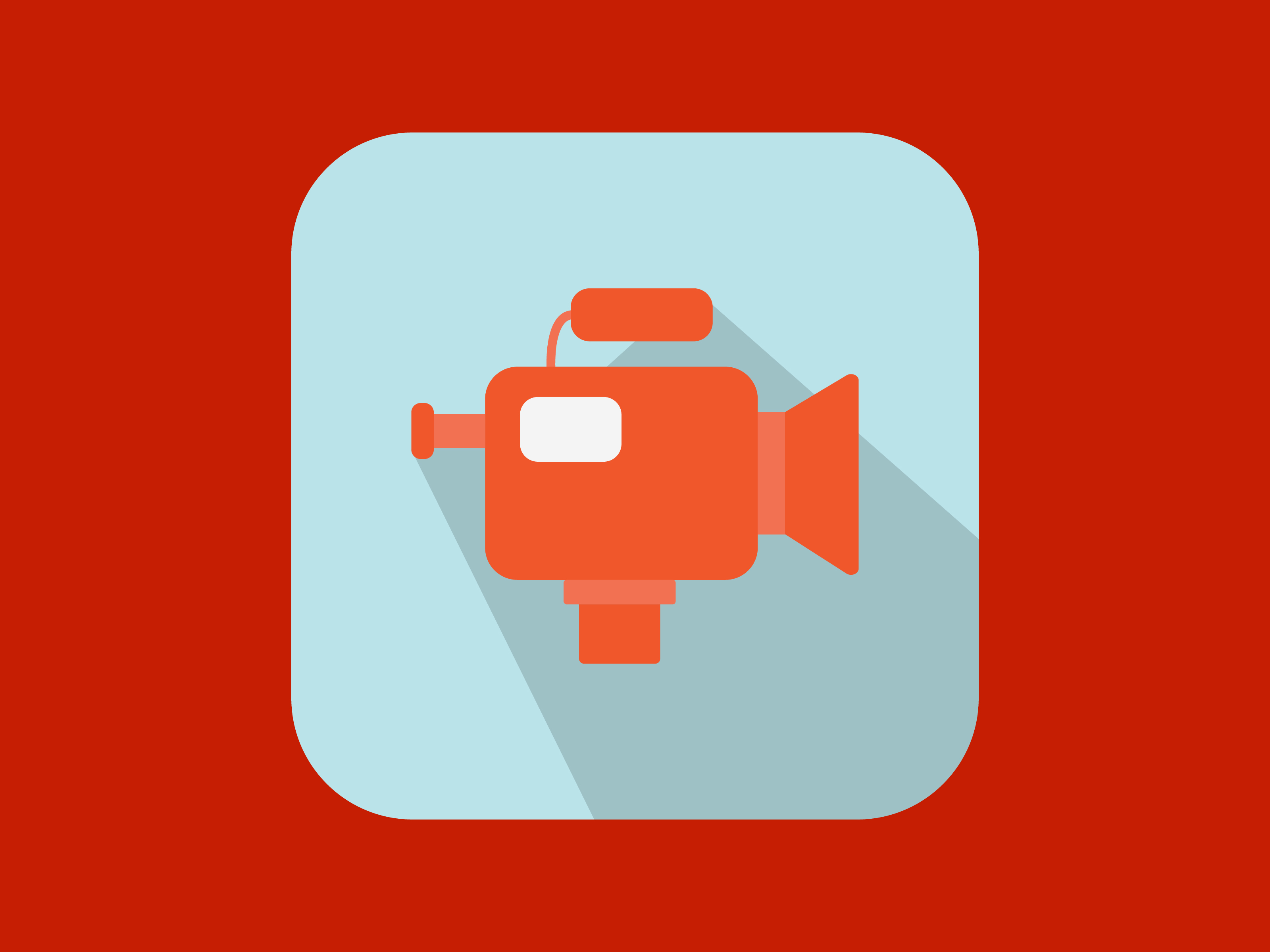Download Free Camera Movie Icon Modern Color Graphic By Meandmydate Creative for Cricut Explore, Silhouette and other cutting machines.