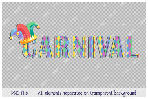 Download Free Carnival 3 Decorative Inscriptions Graphic By Natariis Studio for Cricut Explore, Silhouette and other cutting machines.