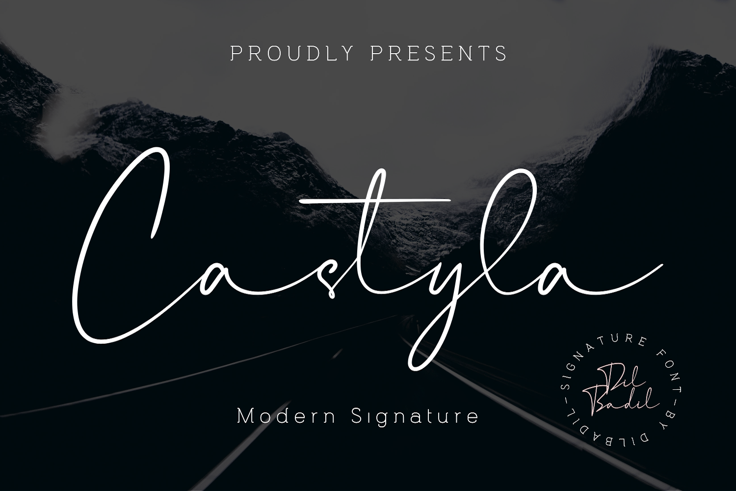 Download Free Castyla Font By Dilbadil Creative Fabrica for Cricut Explore, Silhouette and other cutting machines.