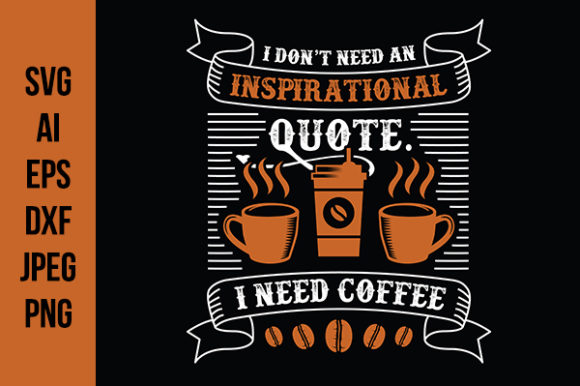 Coffee Quote Good For Cricut Graphic By Tosca Digital Creative