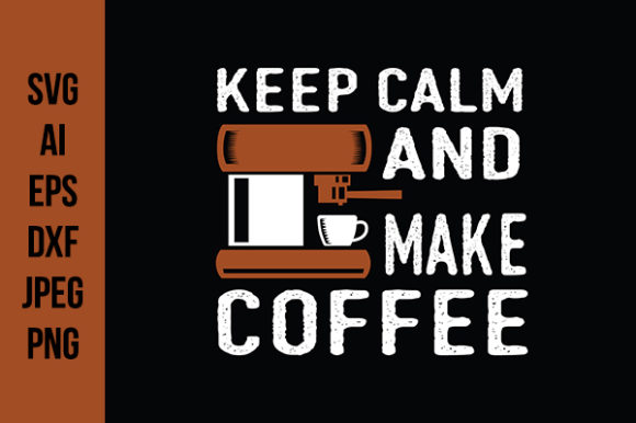 Download Free Coffee Quotes Good For Print Design Graphic By Tosca Digital for Cricut Explore, Silhouette and other cutting machines.