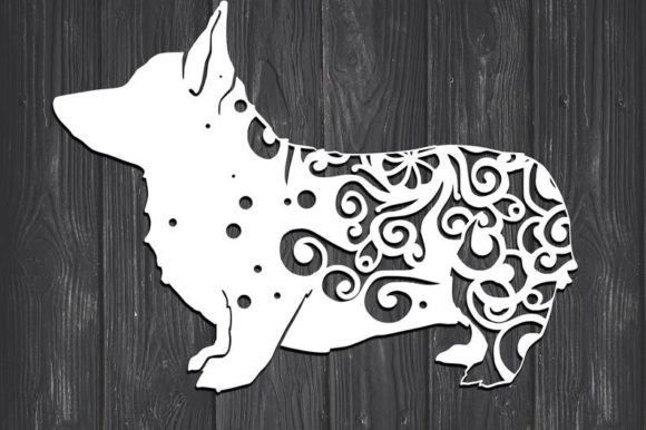 Download Free Corgi Dog Mandala Graphic By Fortunasvg Creative Fabrica for Cricut Explore, Silhouette and other cutting machines.