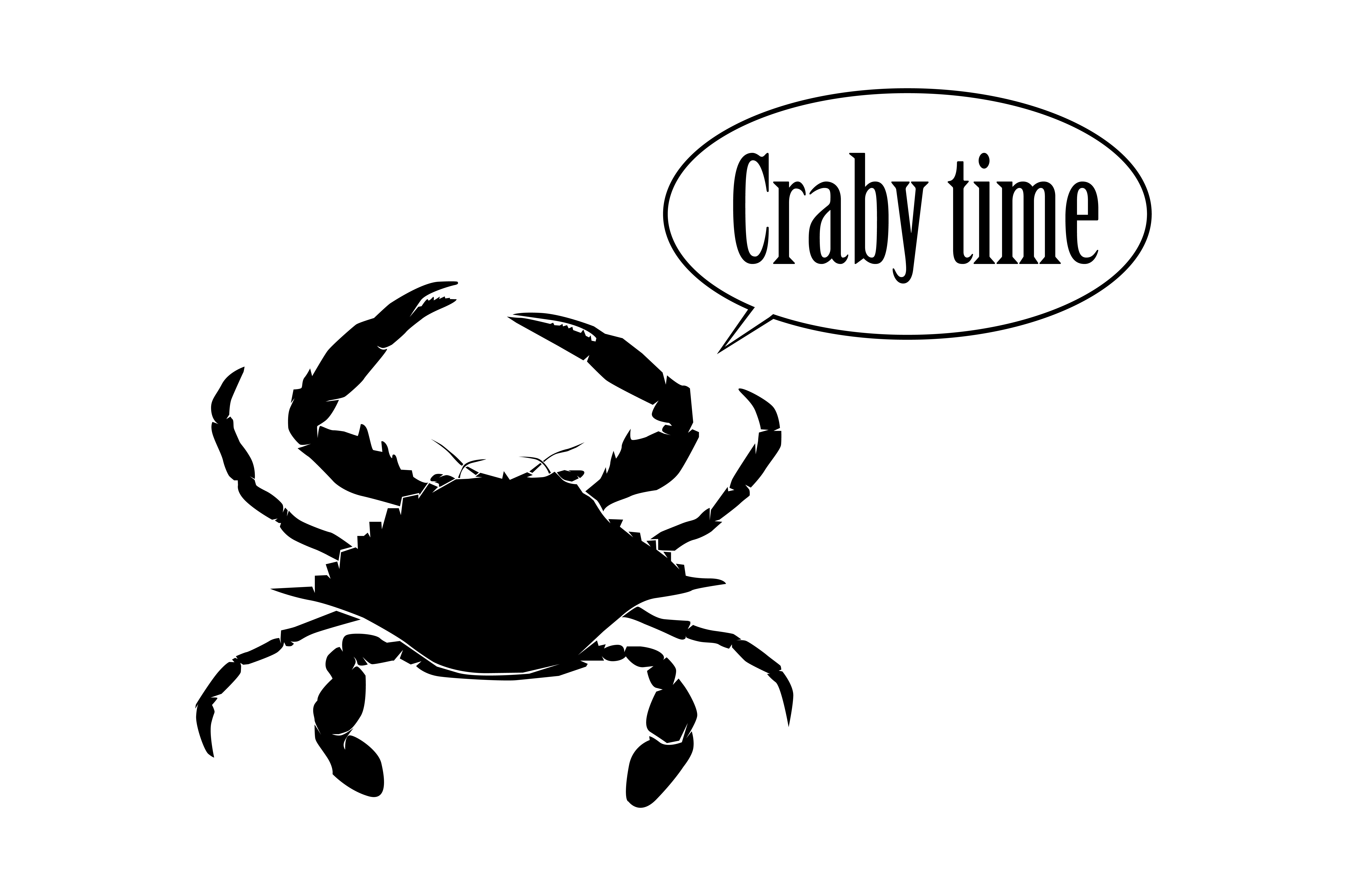 Download Free Crab Design Craft Graphic By Rfg Creative Fabrica for Cricut Explore, Silhouette and other cutting machines.