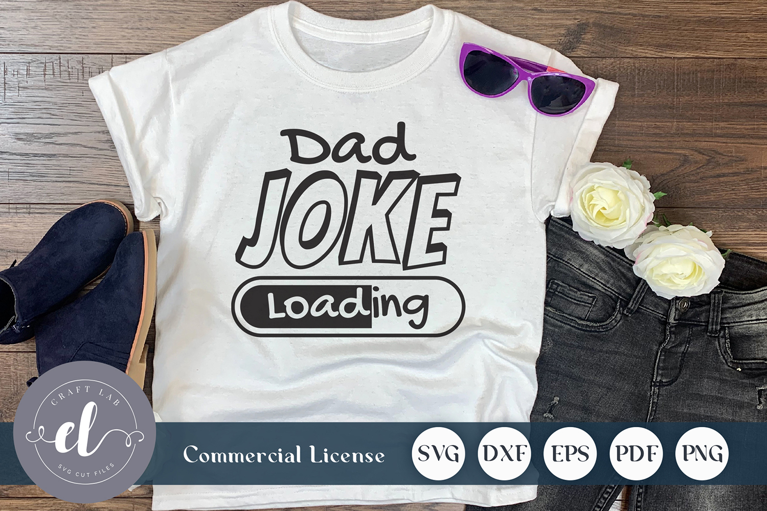 Dad Joke Loading Graphic By Craftlabsvg Creative Fabrica