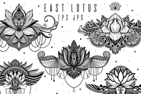 Download Free Nature Flower Bird Pattern Set Graphic By Arina Ulyasheva for Cricut Explore, Silhouette and other cutting machines.