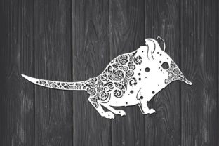 Download Free Elephant Shrew Mandala Graphic By Fortunasvg Creative Fabrica for Cricut Explore, Silhouette and other cutting machines.