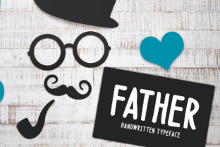 Print on Demand: Father Display Font By Seemly Fonts