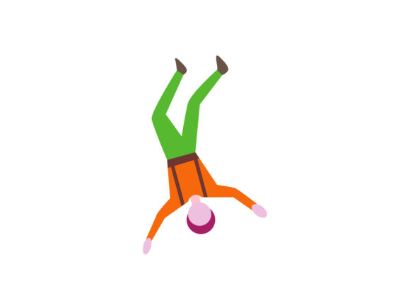 Download Free Free Fall Extreme Sport Icon Color Graphic By 1riaspengantin for Cricut Explore, Silhouette and other cutting machines.