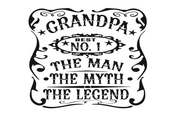 Download Free Grandpa Man Myth Legend Graphic By Printvectors Creative Fabrica for Cricut Explore, Silhouette and other cutting machines.