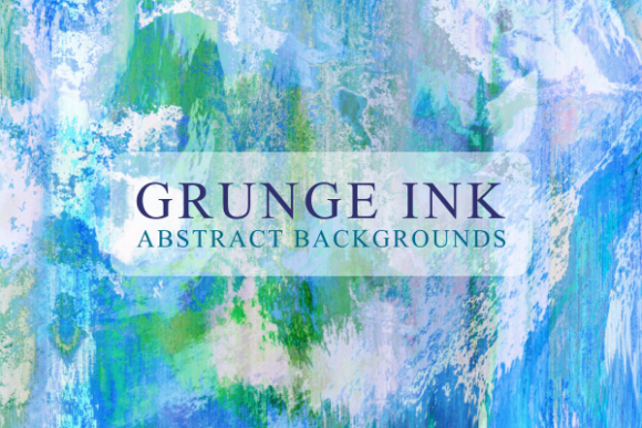 Print on Demand: Grunge Ink Textured Watercolor Papers Graphic Textures By Prawny