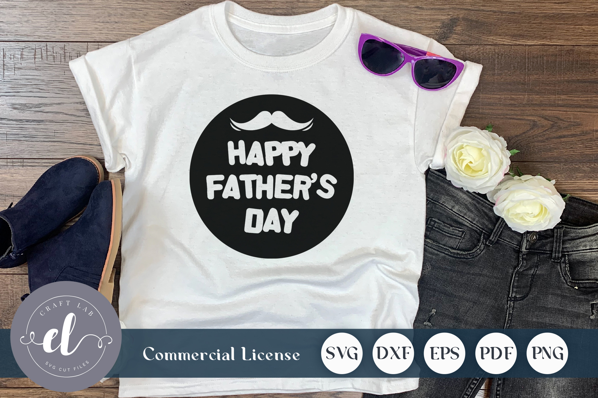 Download Free Happy Father S Day Graphic By Craftlabsvg Creative Fabrica for Cricut Explore, Silhouette and other cutting machines.
