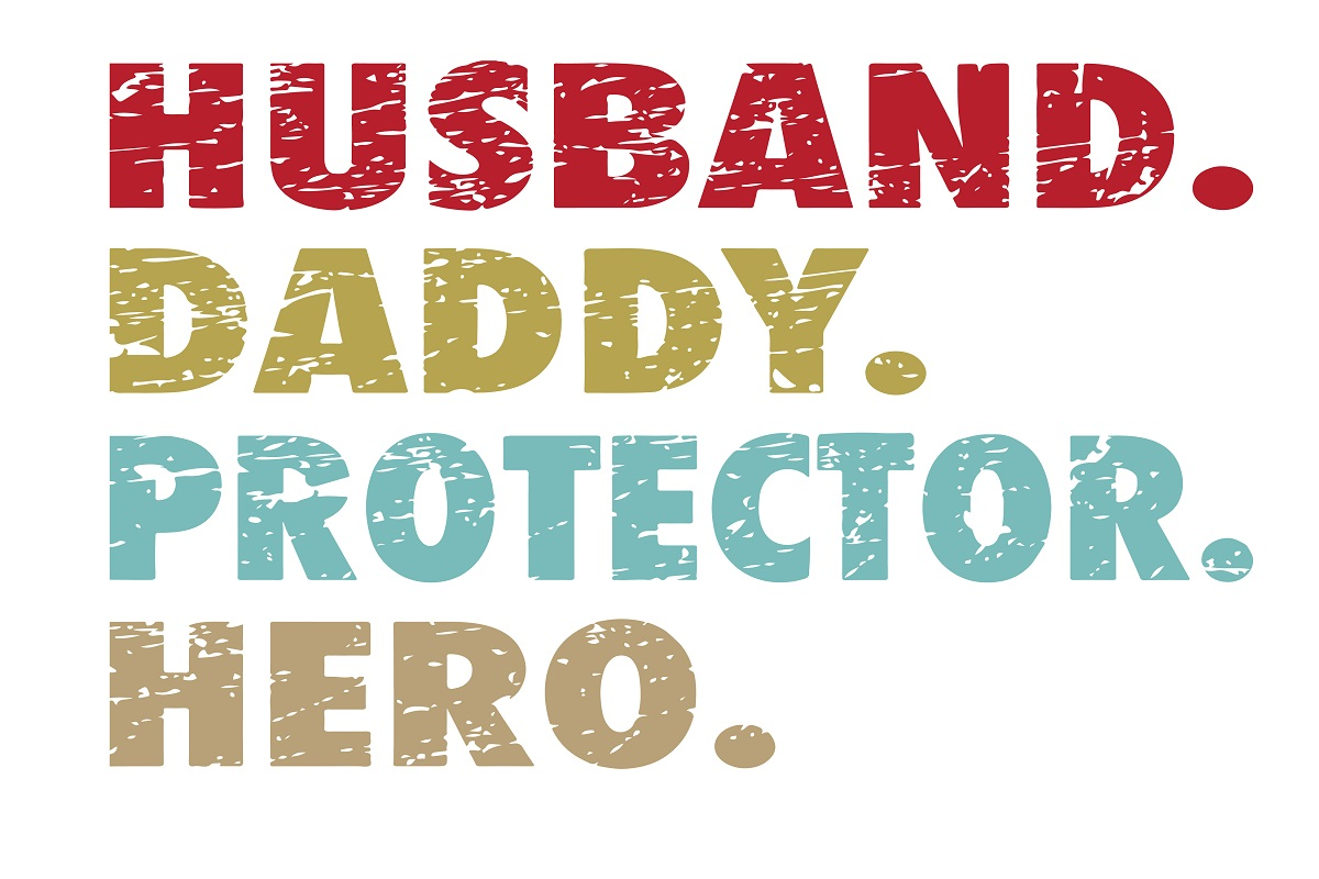 Download Free Husband Daddy Protector Hero Graphic By Printvectors Creative for Cricut Explore, Silhouette and other cutting machines.