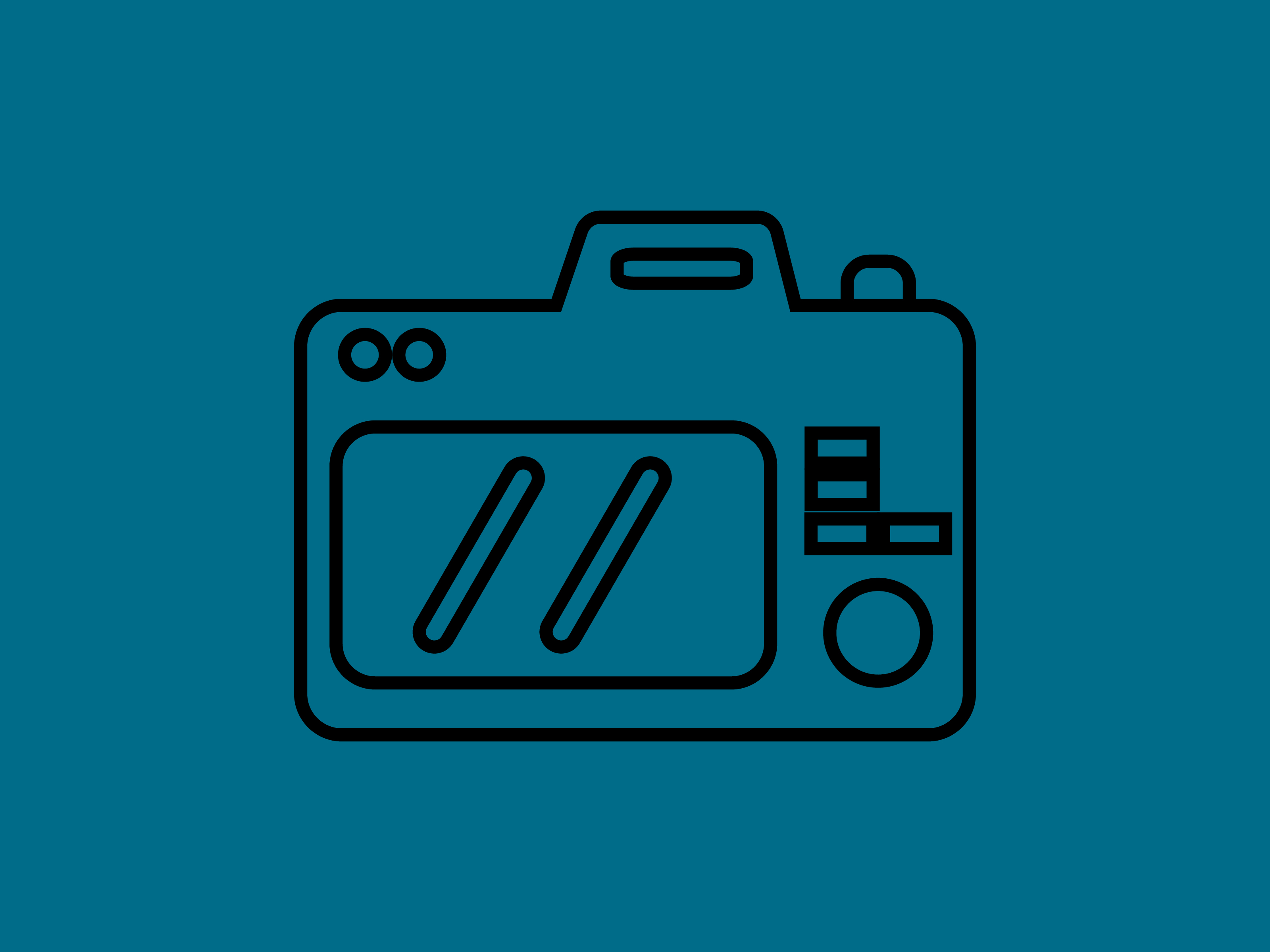 Download Free Icon Camera Photographer Only Outline Graphic By Meandmydate for Cricut Explore, Silhouette and other cutting machines.