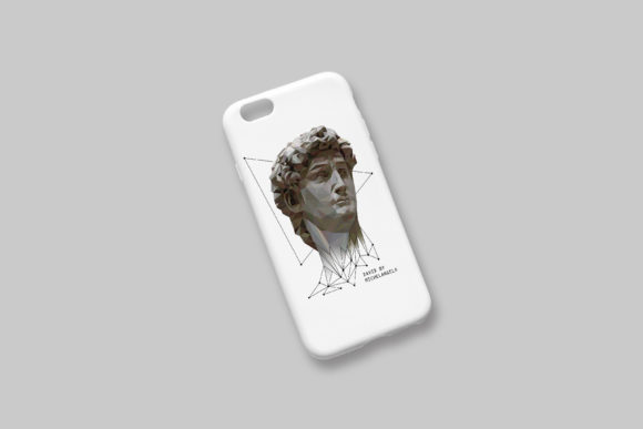Download Free Illustration Of David By Michelangelo Graphic By Natariis Studio for Cricut Explore, Silhouette and other cutting machines.