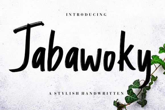 Print on Demand: Jabawoky Script & Handwritten Font By CreatypeStudio