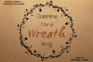 Jasmine Floral Wreath Graphic By 3motional Creative Fabrica
